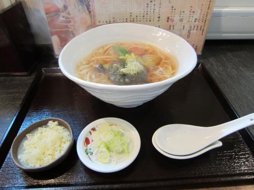 上かけうどん ¥880