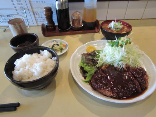 みそかつランチ+豚汁(小) ¥1,050
