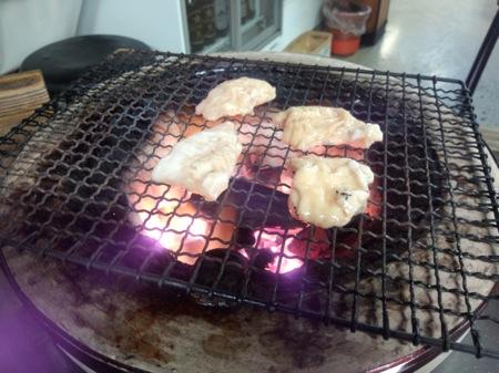 札幌市 木炭焼七輪(しちりん)