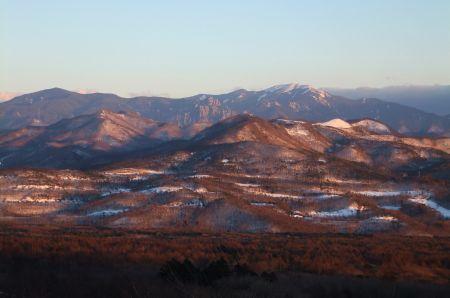 金峰山と甲武信ヶ岳