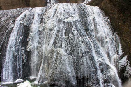 袋田の滝最下部