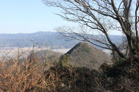 鷲頭山から大平山