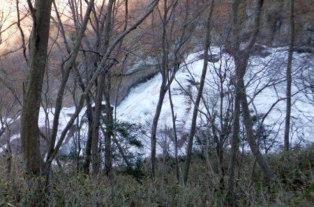 袋田の滝最上部
