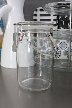 Found MUJI無印良品で購入 フランス製保存瓶 6個セットremplissage