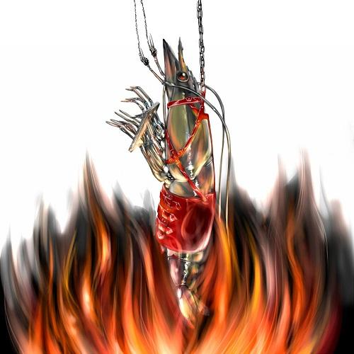 海老の残酷焼き
