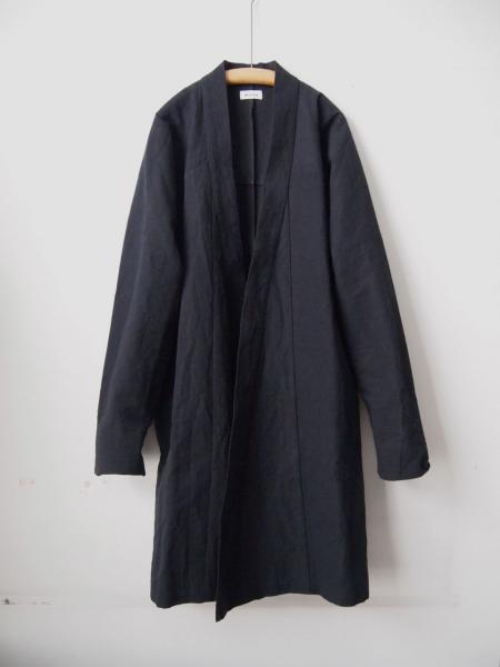 MITTANミタンlong jacketロングジャケットcoatコート黒01