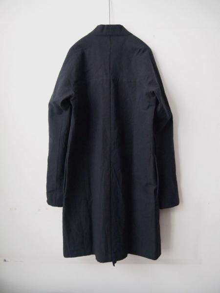 MITTANミタンlong jacketロングジャケットcoatコート黒02