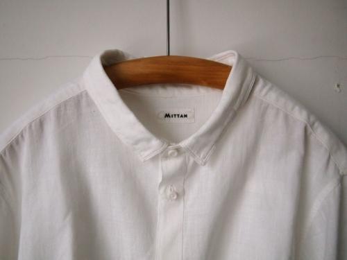 mittanミタンkhadiカディshirtsシャツ白white手織り手紡ぎ大阪通販03