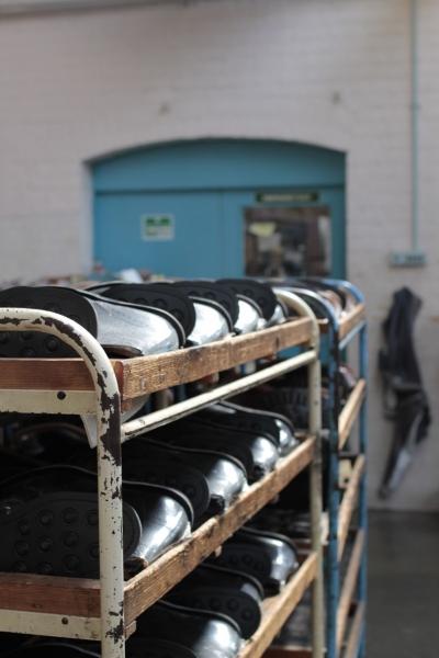 SANDERSサンダース革靴madeinengland英国製10