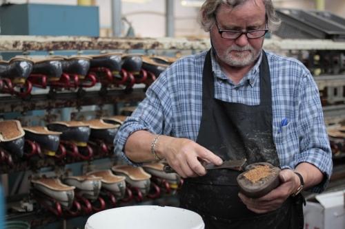 SANDERSサンダース革靴madeinengland英国製11