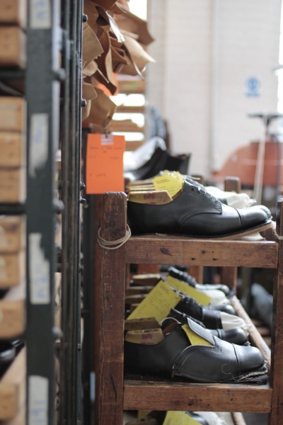 SANDERSサンダース革靴madeinengland英国製15