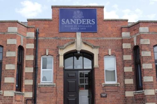 SANDERSサンダース革靴madeinengland英国製18