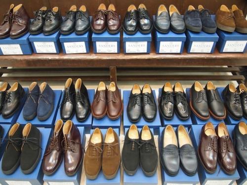 SANDERSサンダース革靴レザーシューズ英国靴madeinengland大阪取り扱い通販実店舗01
