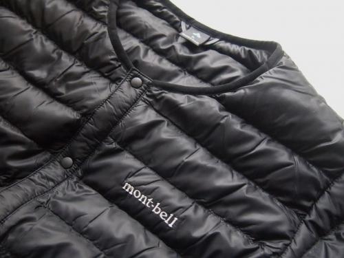 mont-bellモンベルウルトラライトダウンラウンドネックジャケット黒紺SML02