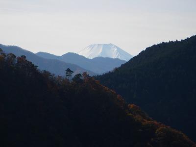 本日唯一の富士山