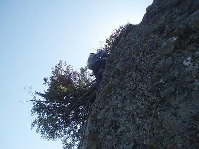 大日岳の登り