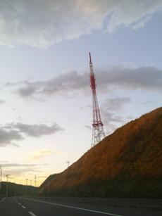 テレビ塔のフォルムが好き。