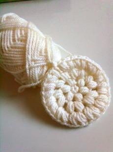 この玉編みが好き☆