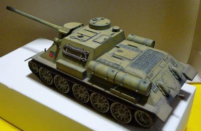 タミヤ1/35SU-100-3