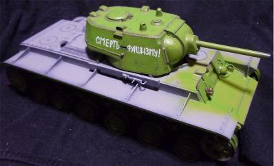タミヤKV-1全体2