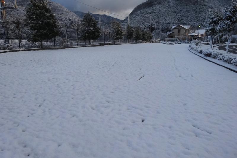 今年いちばんの降雪?