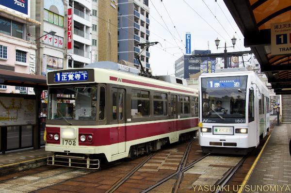市電・長崎駅前