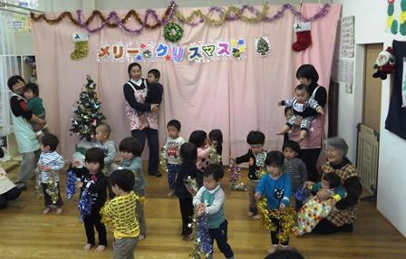 クリスマス会 小さい子組ダンス