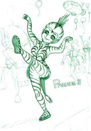 パレードダンサー
