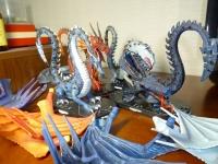 ドラゴン4種 (1024x768)