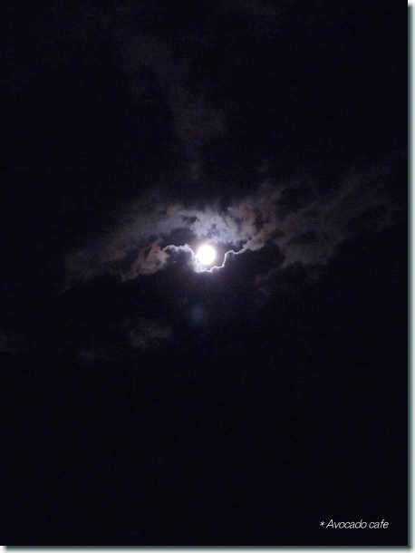 雲の中のブルームーン