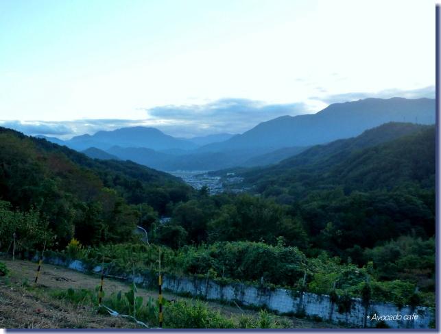 日暮れ前の富士川