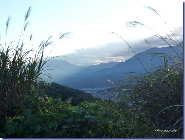 富士川を望む