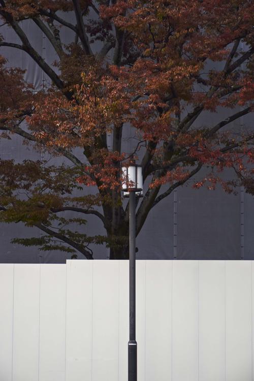 ロームシアター工事塀