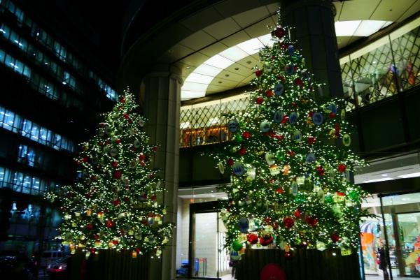 2013年日本橋のクリスマスツリー / X'mas tree 2013 Nihonbashi