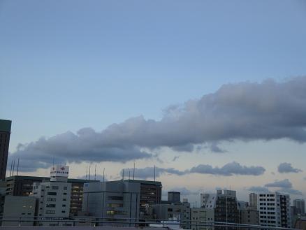 雲の大移動 その1