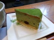 ふなピー魚町銀ぶら☆抹茶チーズケーキ!!20131216-2