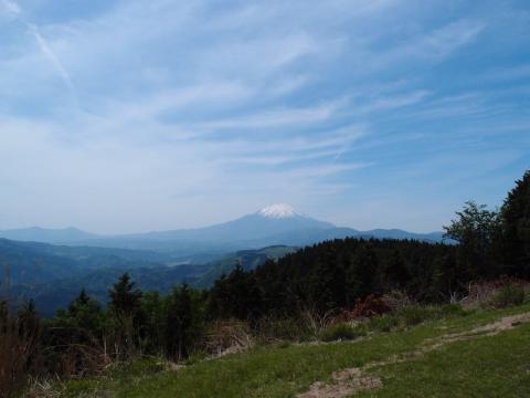 山頂の眺め
