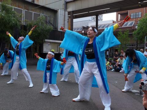 湘南よさこい祭り前夜祭 Team湘南