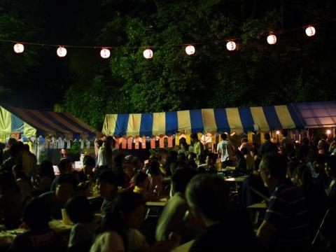 湯河原万葉公園 ホタルの宴