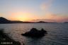 瀬戸内海の夕景1(光上関線から)