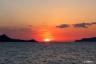 瀬戸内海の夕景2(光上関線から)