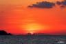 瀬戸内海の夕景3(光上関線から)