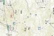 神山地形図