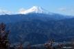 陣馬山山頂3、富士山