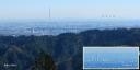 景信山山頂5、ランドマークタワー