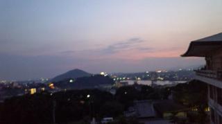 成田山から見る犬山の夜景