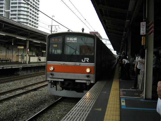 いわずと知れた「武蔵野線」