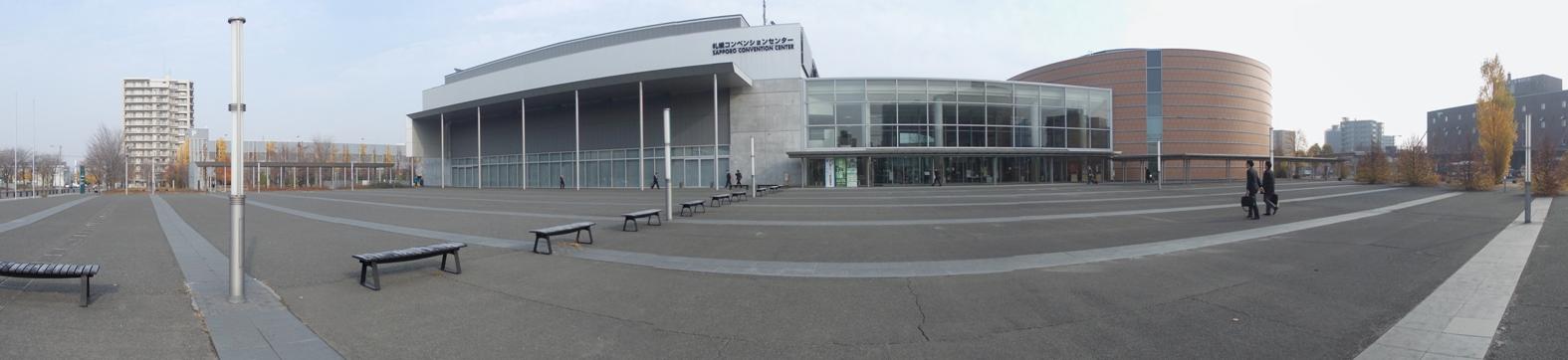 20141101_札幌コンベンションセンター_180度パノラマ1