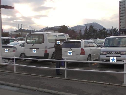 20141121_平岸西友駐車場