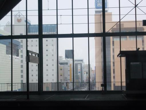 20141210_旭川駅すでに15分遅れ